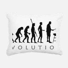 Evolution Grill 3 2c Rectangular Canvas Pillow