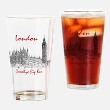 London_10x10_border_BigBen_Goodbye_ Drinking Glass
