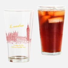 London_10x10_BigBen_Goodbye_Welcome Drinking Glass