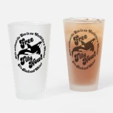 Free Tilly Now Original Drinking Glass