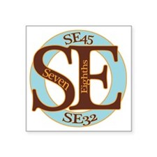"Standard Logo 18cm Square Sticker 3"" x 3"""