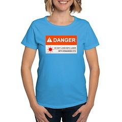 DANGER Women's Caribbean Blue T-Shirt