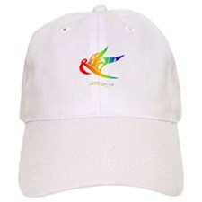 Ryan rainbow bird Baseball Cap