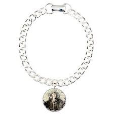 Vintage Flower Circle Bracelet