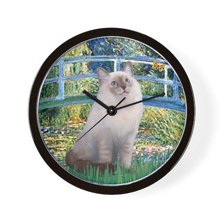 Bridge & Ragdoll Wall Clock
