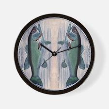Vintage Fish Wall Clock