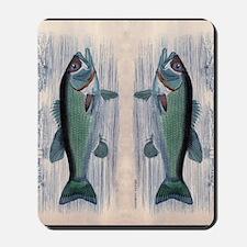 Vintage Fish Mousepad