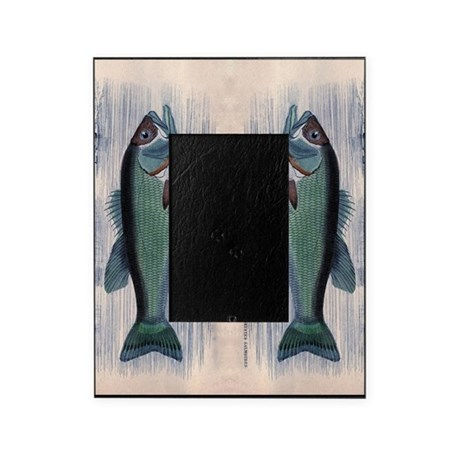 Vintage fish picture frame by admin cp147490 for Fishing picture frame