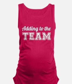 Adding to the Team Maternity Tank Top