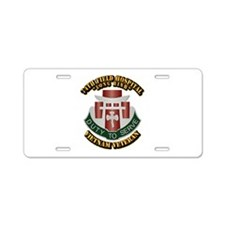 Army - 74th Field Hospital Aluminum License Plate