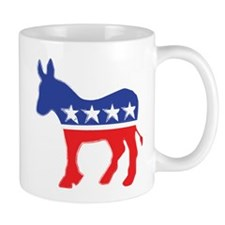Democratic Donkey Mugs