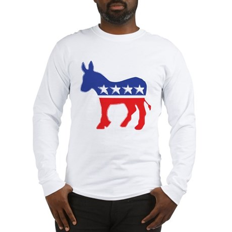 Democratic Donkey Long Sleeve T-Shirt