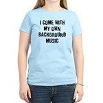 Background Music Women's Light T-Shirt