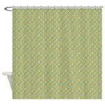 Diced Shower Curtain