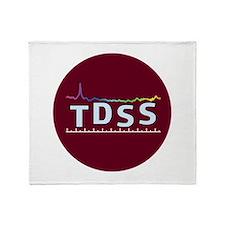 JPL Text Logo Throw Blanket