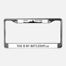 Cute Bb License Plate Frame