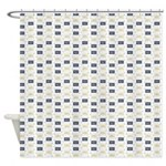 Geometric Flourish Shower Curtain