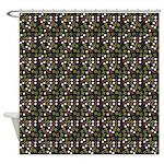 Geometric Mish Mash Shower Curtain