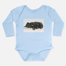 Sleeping Irish Wolfhound Puppy Body Suit