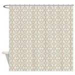 Star Clusters Autumn Shower Curtain