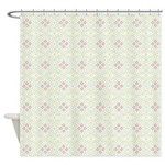 Star Clusters Lucid Shower Curtain