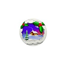 Christmas Idyll 2 Mini Button (100 pack)