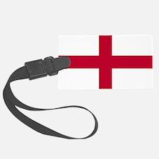 NC English Flag - St. Georges Cr Luggage Tag