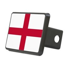 NC English Flag - St. Geor Hitch Cover