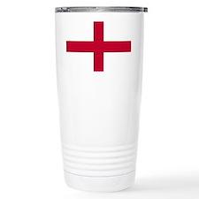NC English Flag - St. Georges C Thermos Mug