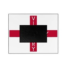 PC English Flag - St. Georges Cross Picture Frame
