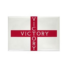 PC English Flag - St. Georges Cro Rectangle Magnet