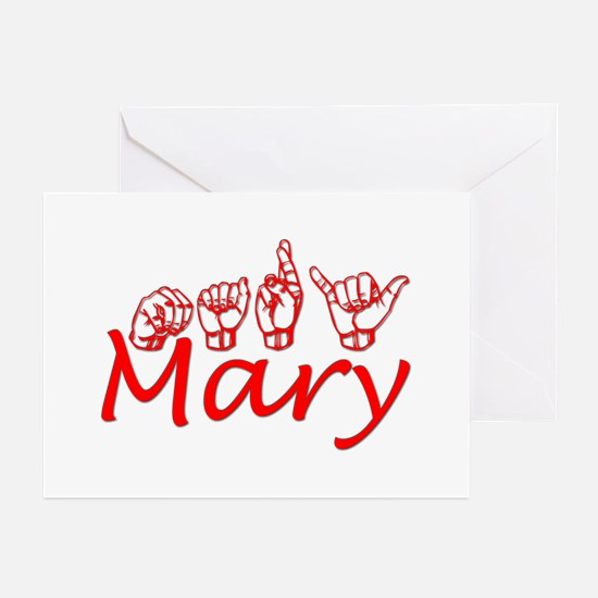 Mary Greeting Cards (Pk of 10)