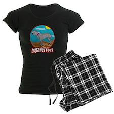 Tripawd Pitbull Rear Leg Bla Pajamas