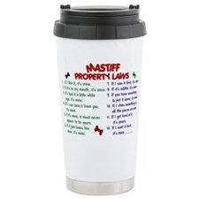 Unique Neapolitan mastiff Travel Mug