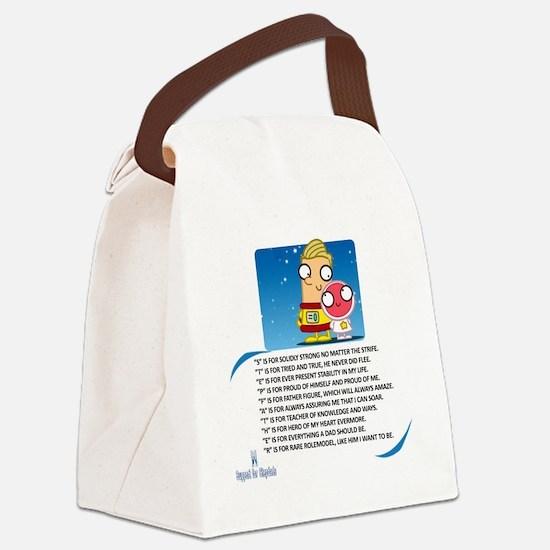 Stepdad Canvas Lunch Bag