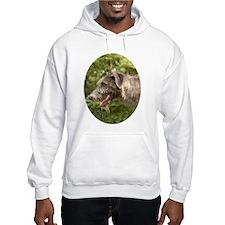 Wet Irish Wolfhound Hoodie