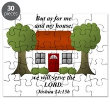 Me and My House will Serve the Lord Puzzle