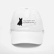 ScottishTerrierSister Baseball Baseball Cap