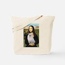 Mona & her Ragdoll Tote Bag