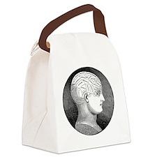 Phrenology Canvas Lunch Bag