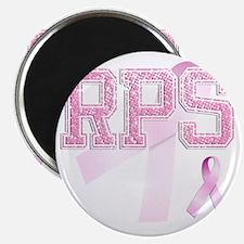 RPS initials, Pink Ribbon, Magnet