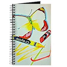 Crayon Butterfly Journal