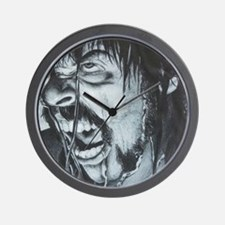 The Scream and Shout Wall Clock