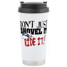 Cute Polaris snowmobile Travel Mug