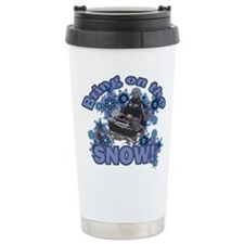 Bring On The Snow Travel Coffee Mug