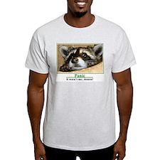 Ash Grey Panic T-Shirt