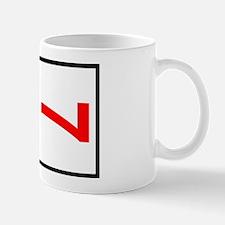 7 Autocross Number Plates Mug