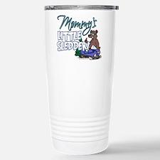 Mommy's Little Sledder Stainless Steel Travel Mug
