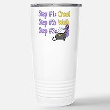 Step 1... Step 2... Stainless Steel Travel Mug