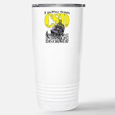 CSD Compulsive Snowmobi Stainless Steel Travel Mug